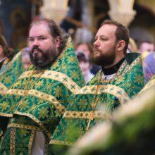 Богослужение в Троице-Сергиевой лавре в день памяти преподобного Сергия Радонежского!