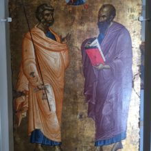 Неделя 5-я по Пятидесятнице. Глас 4-й. Славных и всехва́льных первоверхо́вных апостолов Петра и Павла.